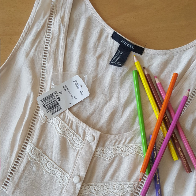 خرید | تاپ / شومیز / پیراهن | زنانه,فروش | تاپ / شومیز / پیراهن | شیک,خرید | تاپ / شومیز / پیراهن | شیری | Forever21,آگهی | تاپ / شومیز / پیراهن | مدیوم,خرید اینترنتی | تاپ / شومیز / پیراهن | جدید | با قیمت مناسب