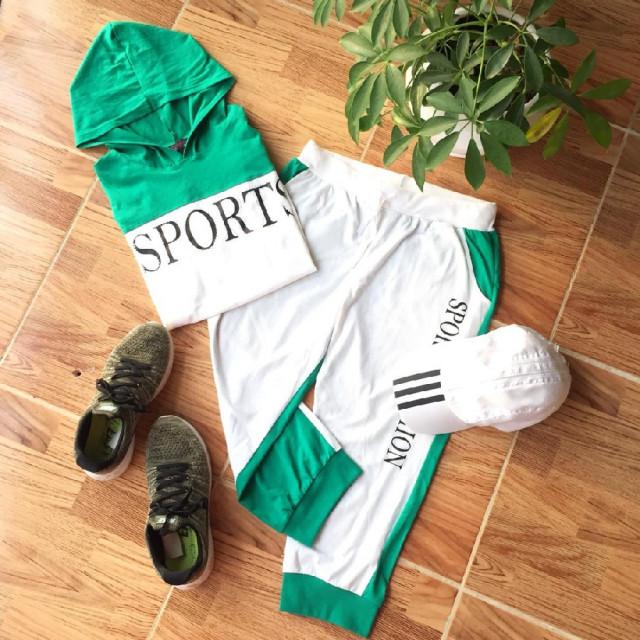 خرید   لباس ورزشی   زنانه,فروش   لباس ورزشی   شیک,خرید   لباس ورزشی   سفید . سبز   giovana sport,آگهی   لباس ورزشی   M,خرید اینترنتی   لباس ورزشی   درحدنو   با قیمت مناسب
