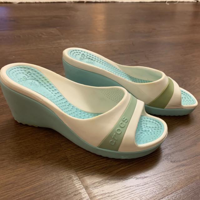 خرید | کفش | زنانه,فروش | کفش | شیک,خرید | کفش | سفید و سبز | Crocs,آگهی | کفش | 37,خرید اینترنتی | کفش | جدید | با قیمت مناسب