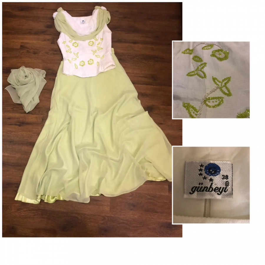 خرید | لباس مجلسی | زنانه,فروش | لباس مجلسی | شیک,خرید | لباس مجلسی | سفید و سبز | Günbeyi ,آگهی | لباس مجلسی | 38,خرید اینترنتی | لباس مجلسی | درحدنو | با قیمت مناسب