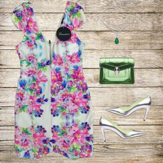 خرید | لباس مجلسی | زنانه,فروش | لباس مجلسی | شیک,خرید | لباس مجلسی | زمینه سفید با گلهای رنگارنگ | Paradisco,آگهی | لباس مجلسی | 36یا 38,خرید اینترنتی | لباس مجلسی | جدید | با قیمت مناسب